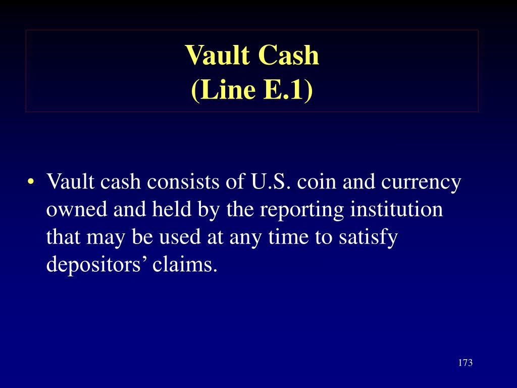 Vault Cash