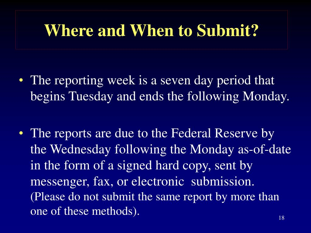 Where and When to Submit?