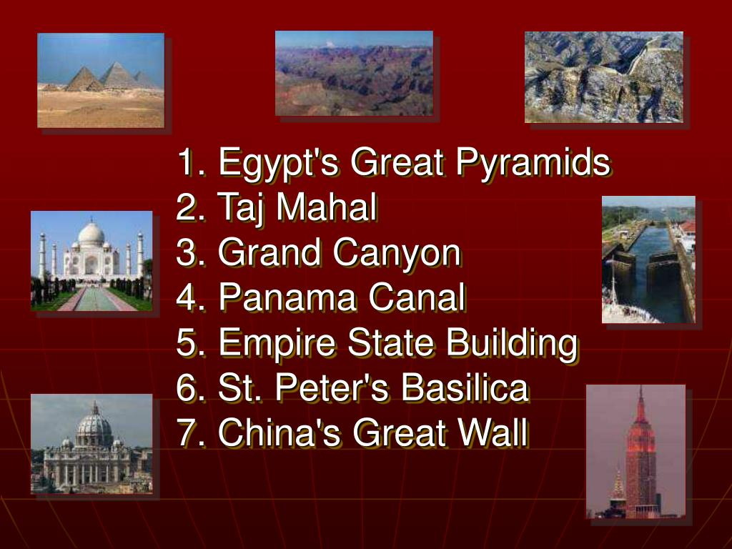 1. Egypt's Great Pyramids