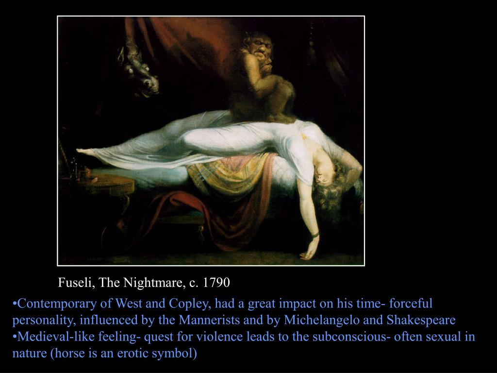 Fuseli, The Nightmare, c. 1790