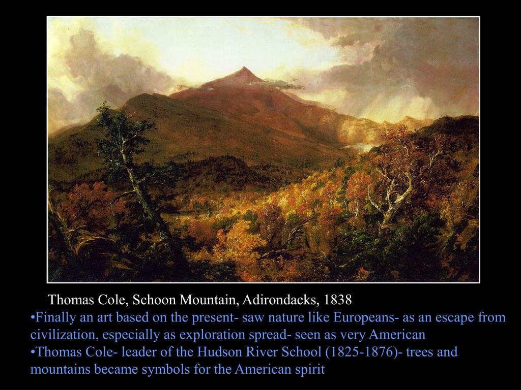 Thomas Cole, Schoon Mountain, Adirondacks, 1838