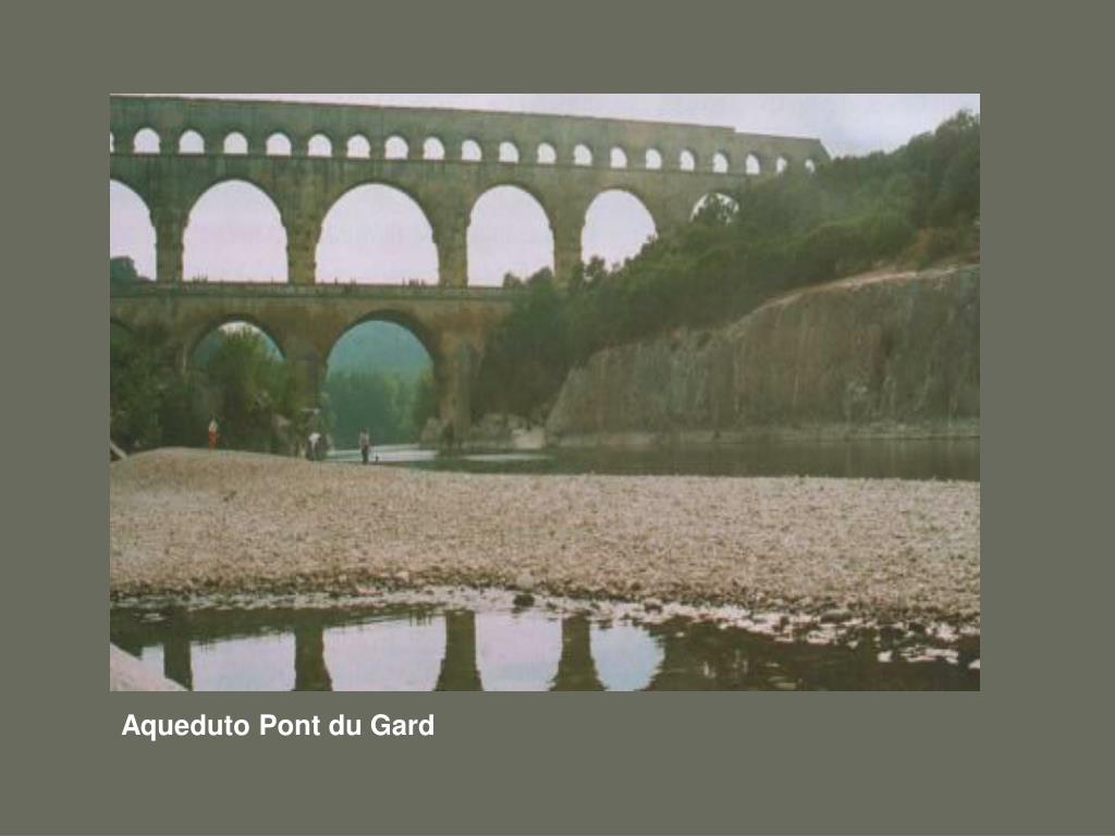 Aqueduto Pont du Gard