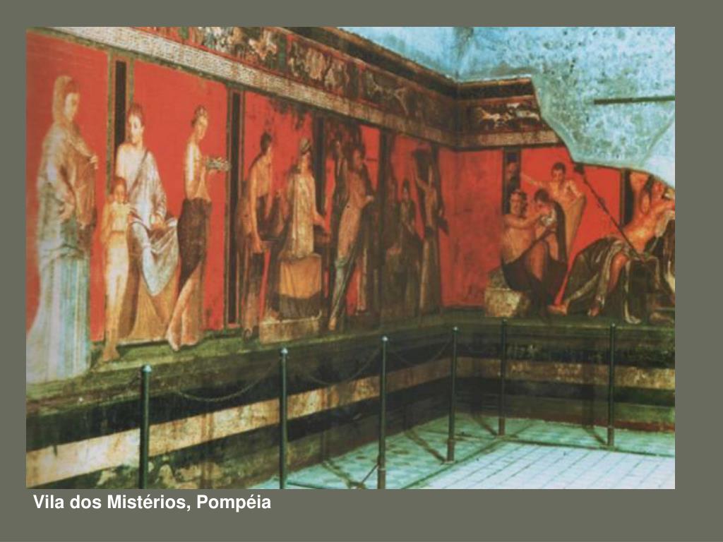 Vila dos Mistérios, Pompéia