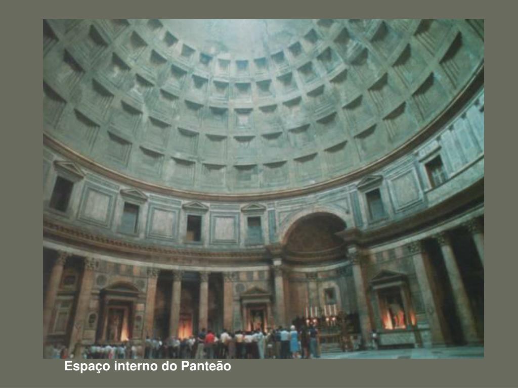 Espaço interno do Panteão