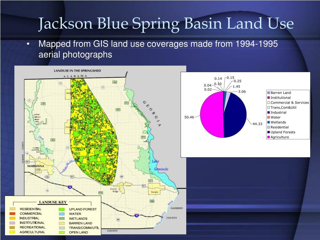 Jackson Blue Spring Basin Land Use