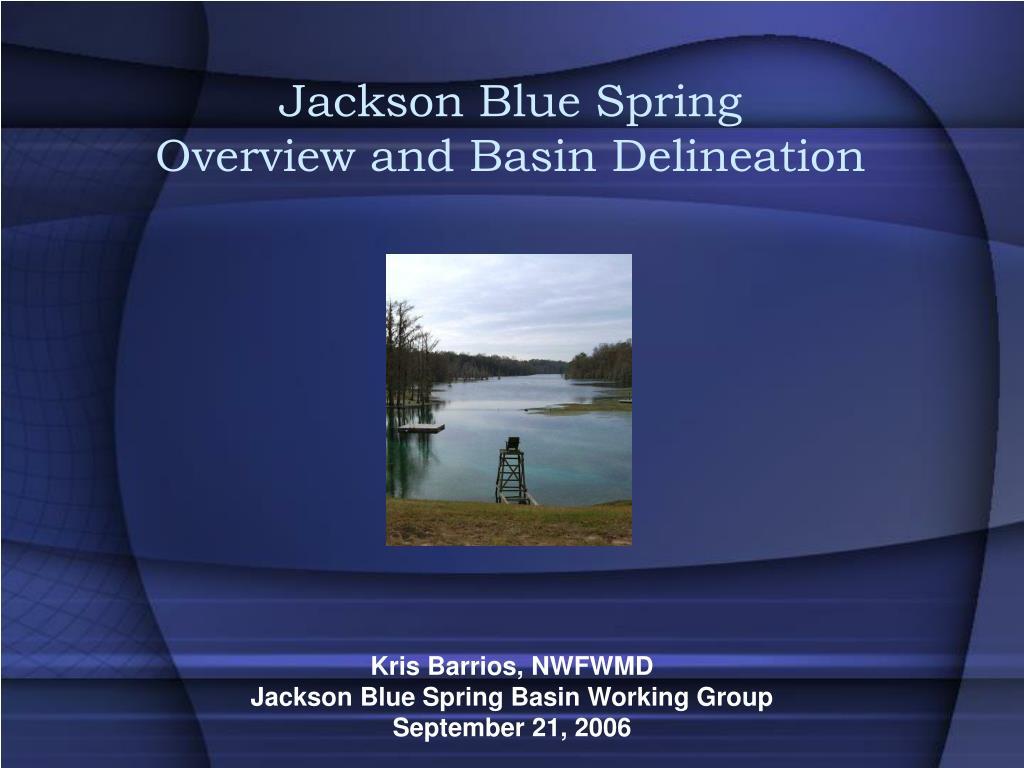 Jackson Blue Spring