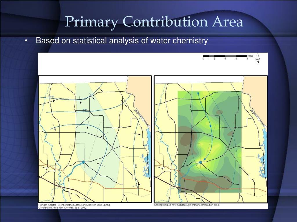 Primary Contribution Area