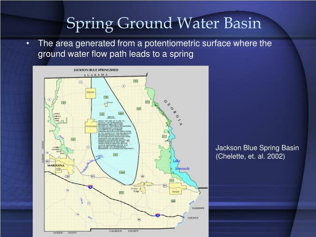 Spring Ground Water Basin