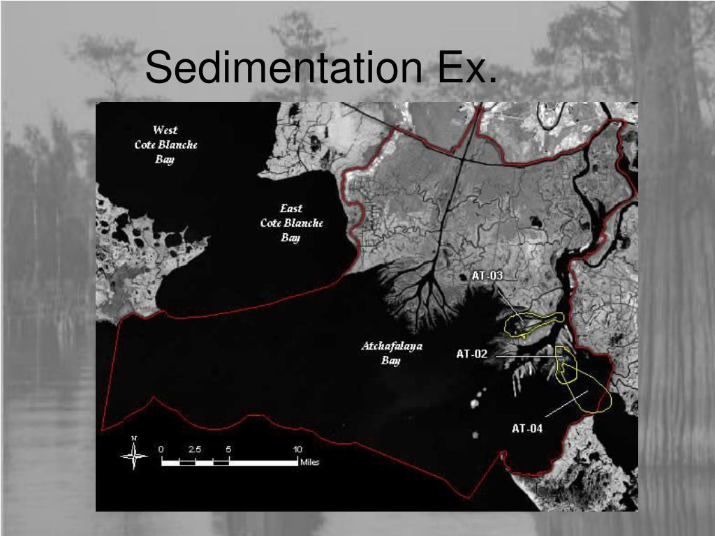 Sedimentation Ex.