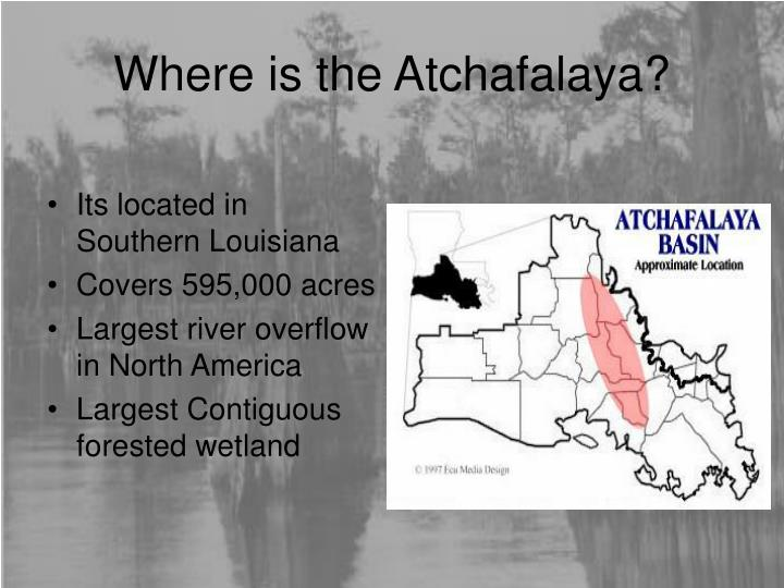 Where is the atchafalaya