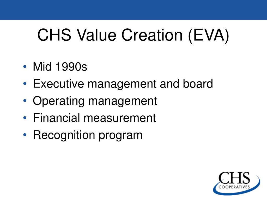 CHS Value Creation (EVA)