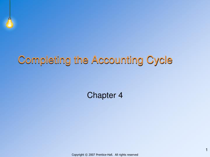 Completing the accounting cycle l.jpg
