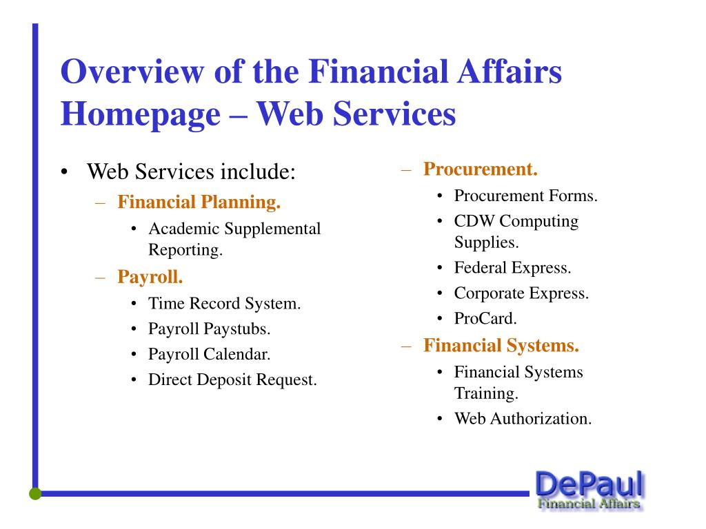 Web Services include: