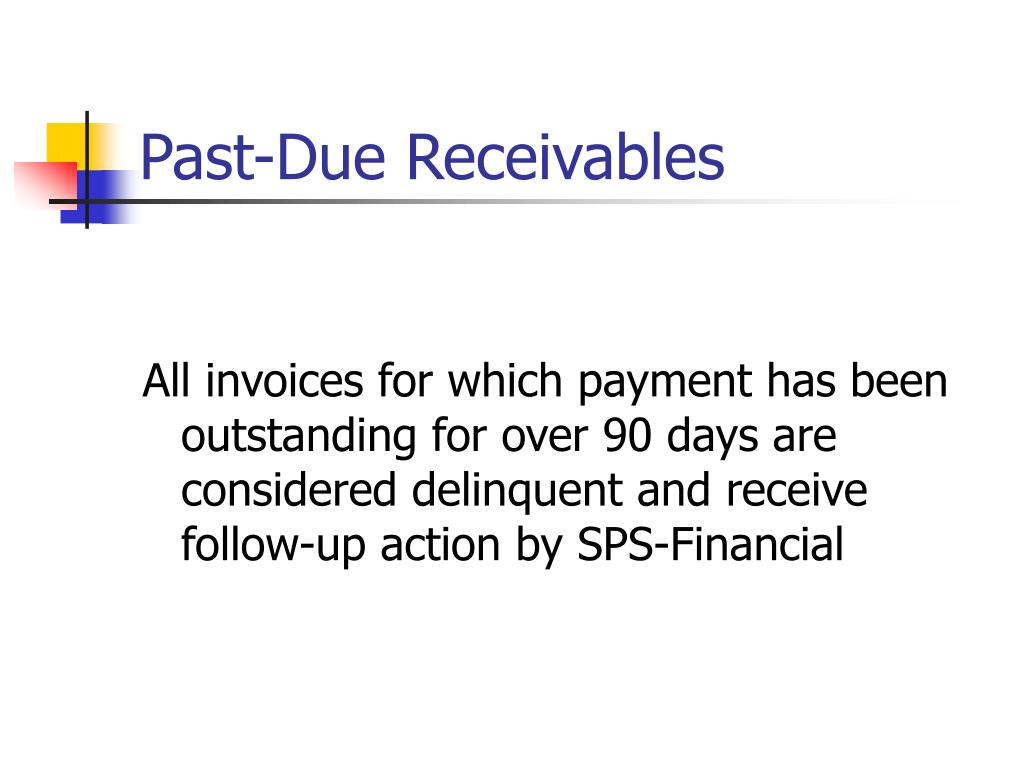 Past-Due Receivables