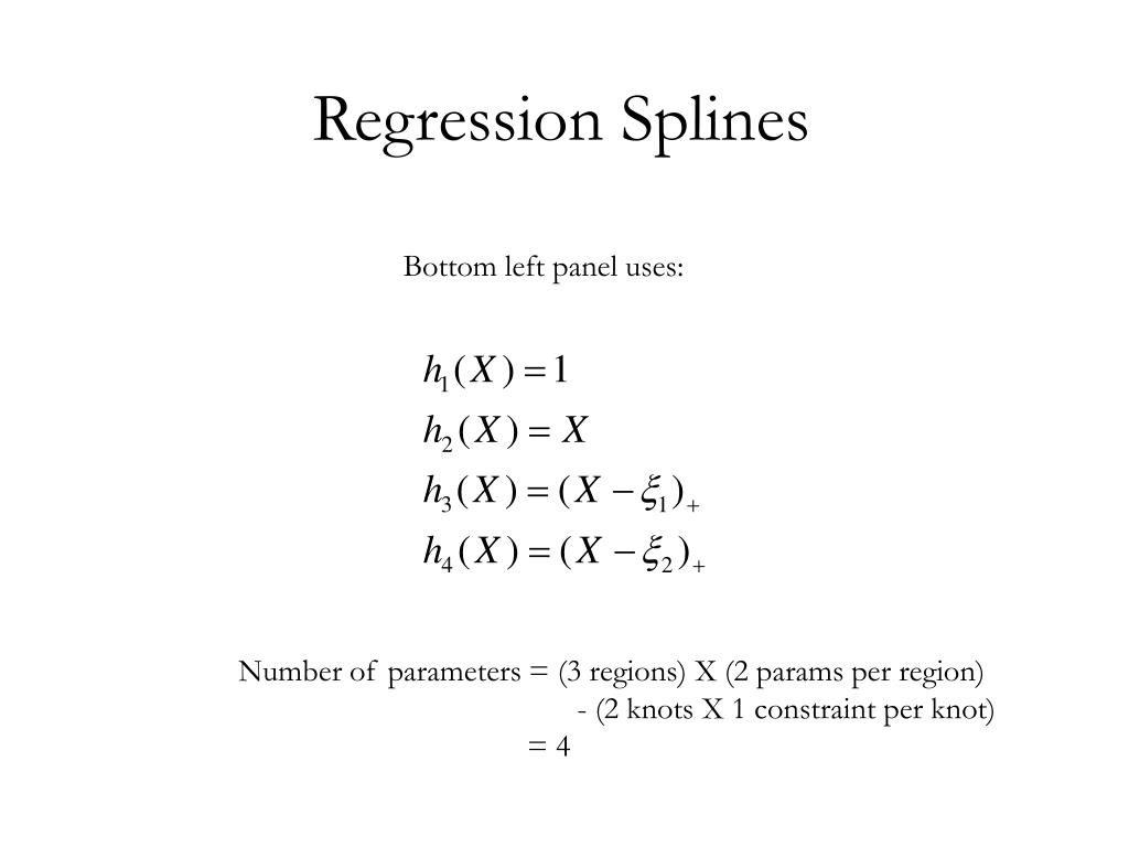 Regression Splines