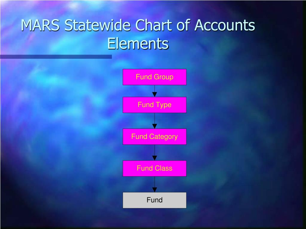 MARS Statewide Chart of Accounts Elements
