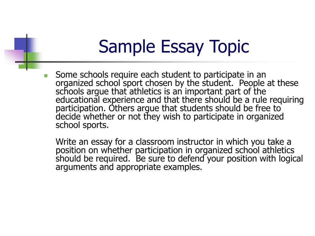 ACCUPLACER Essay Writing Guidelines