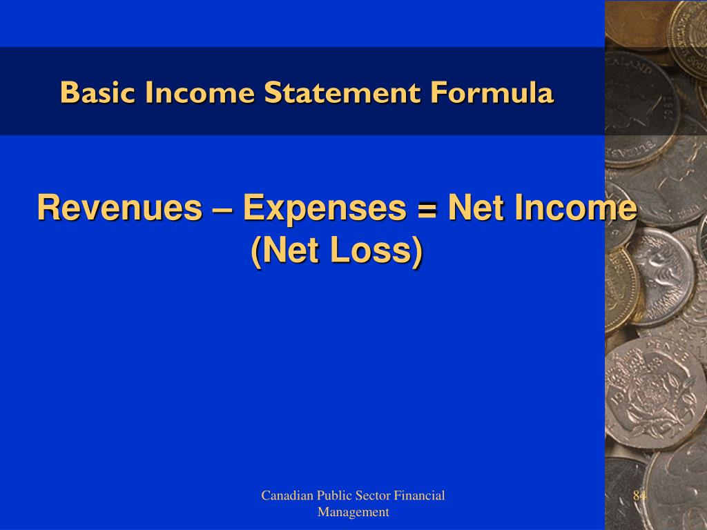Basic Income Statement Formula