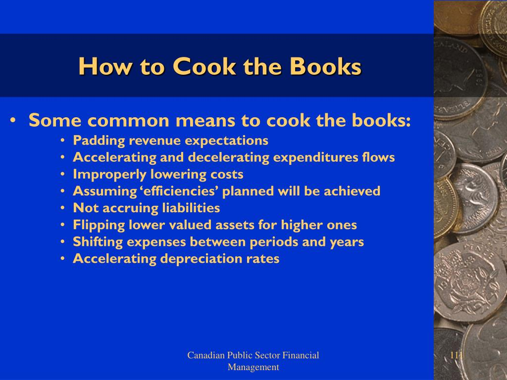 How to Cook the Books