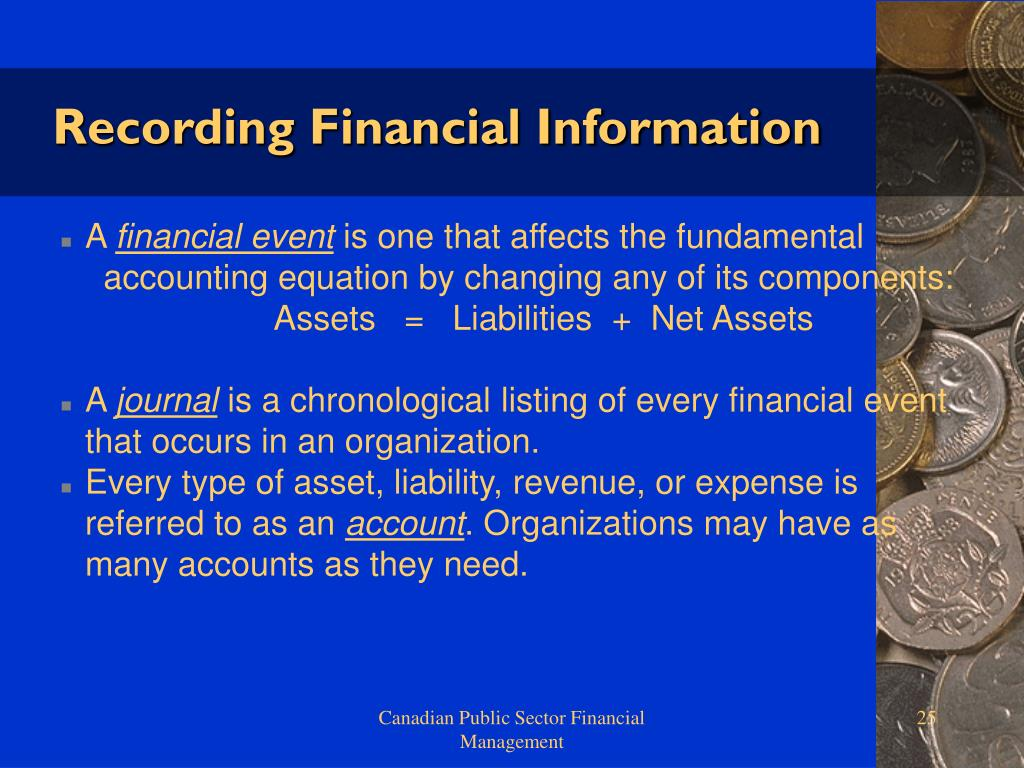 Recording Financial Information