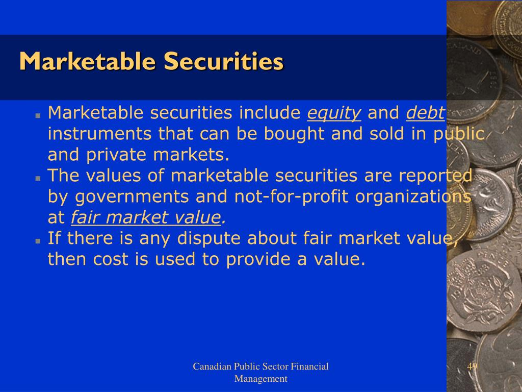 Marketable Securities
