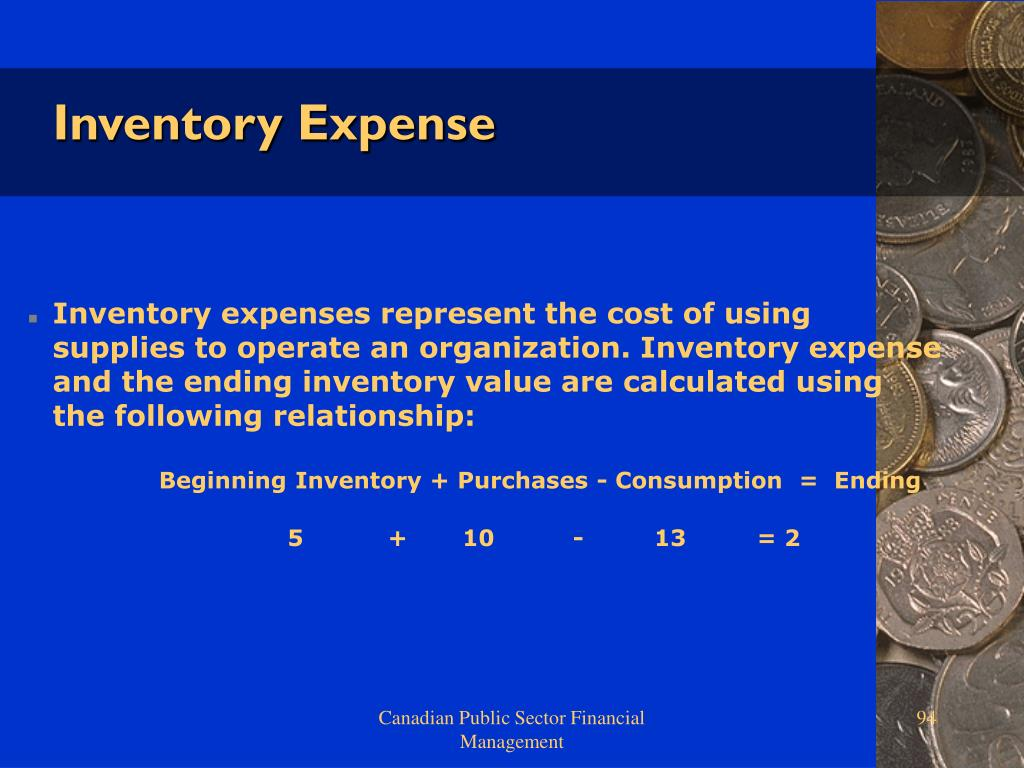 Inventory Expense