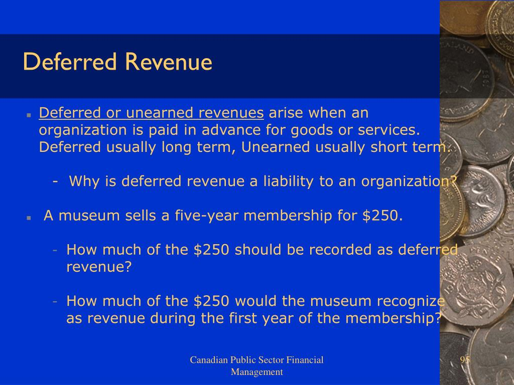 Deferred Revenue