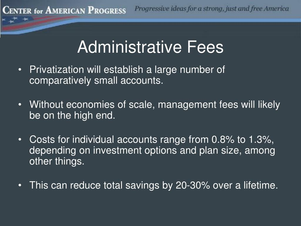Administrative Fees