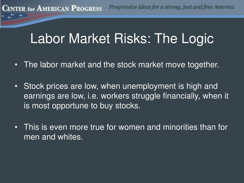 Labor Market Risks: The Logic