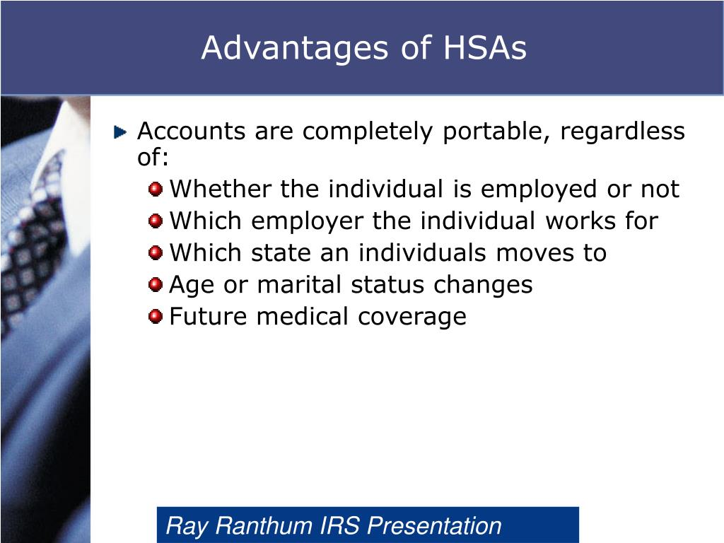 Advantages of HSAs