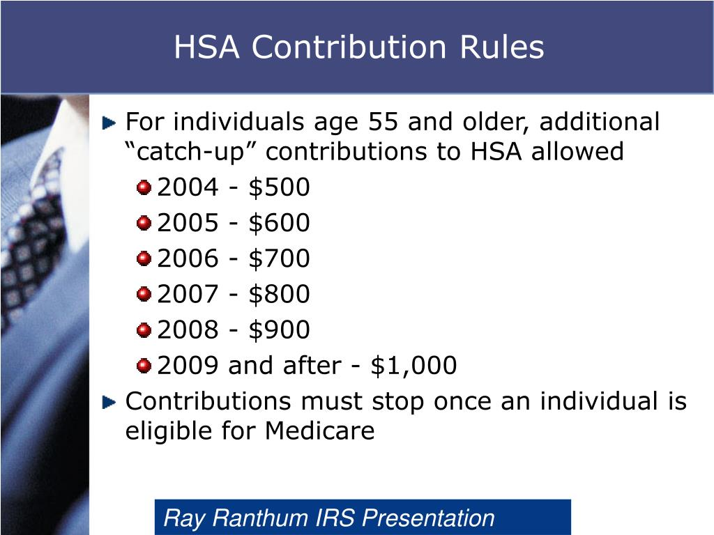 HSA Contribution Rules