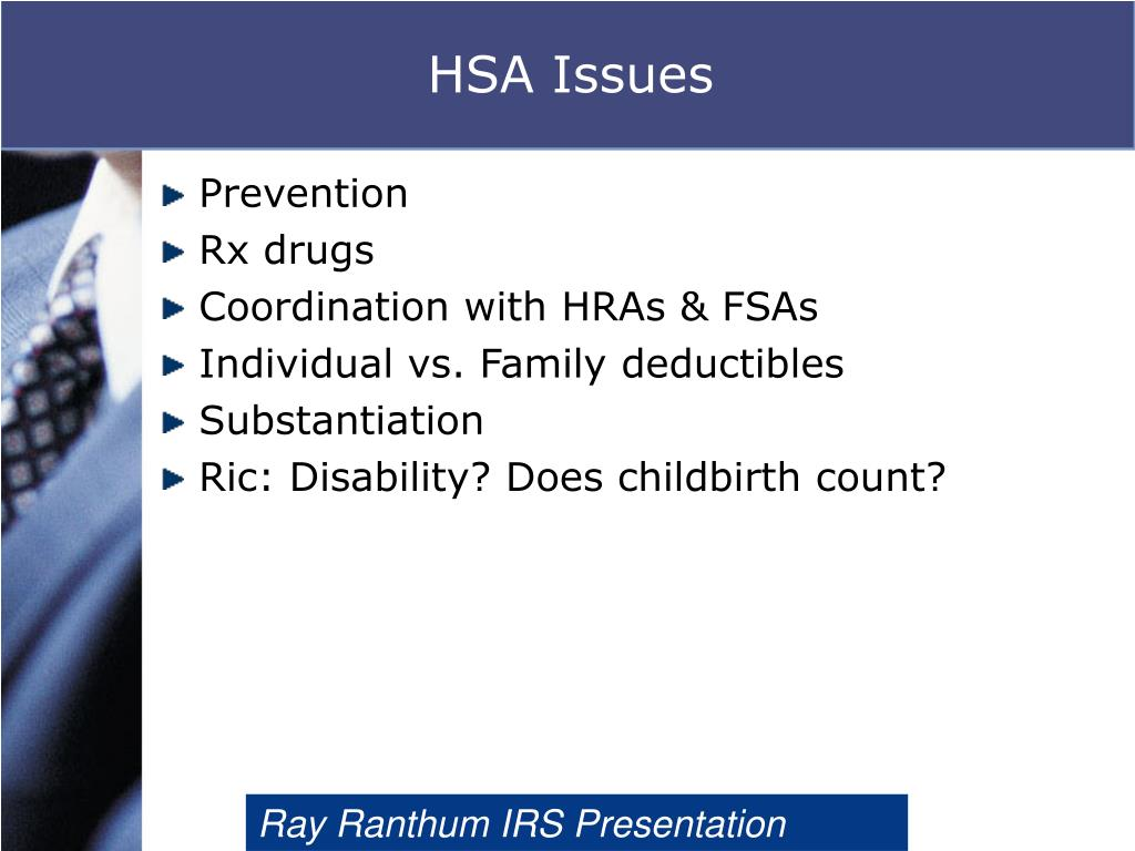 HSA Issues