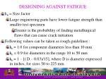 designing against fatigue13