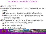 designing against fatigue16