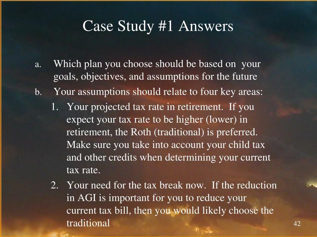 Case Study #1 Answers