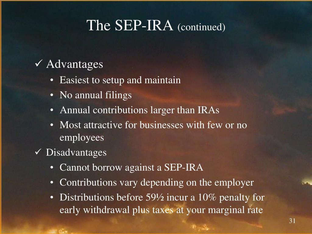 The SEP-IRA