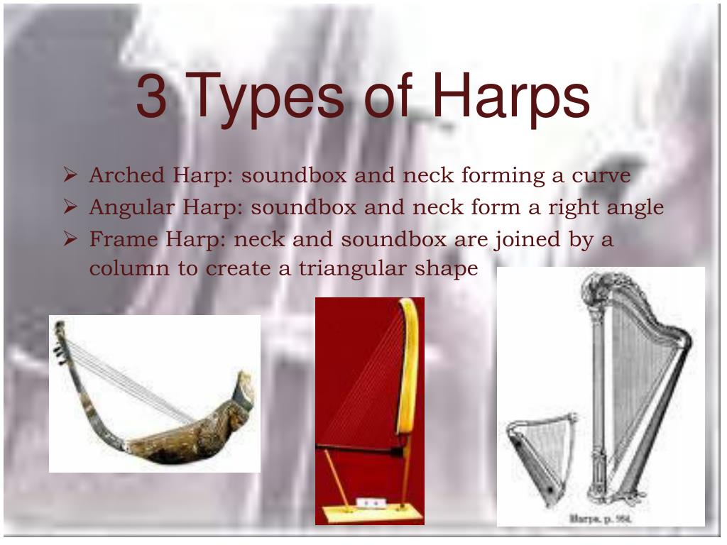 3 Types of Harps