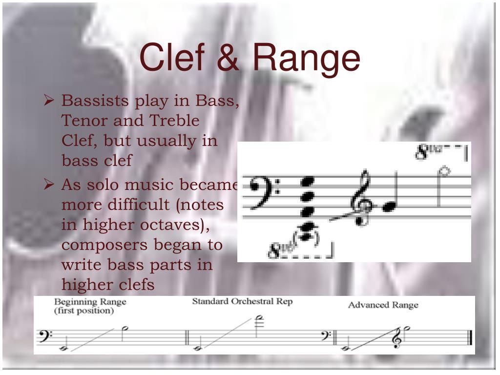 Clef & Range