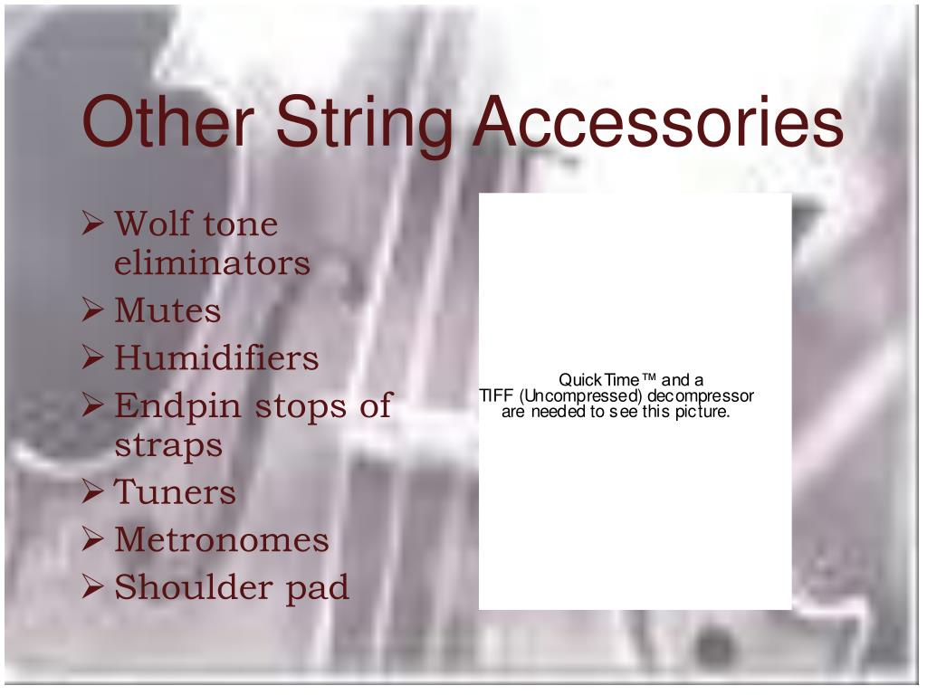 Other String Accessories