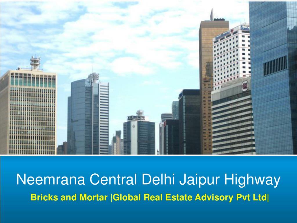 Neemrana Central Delhi Jaipur Highway