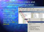active directory users and computers configuration77