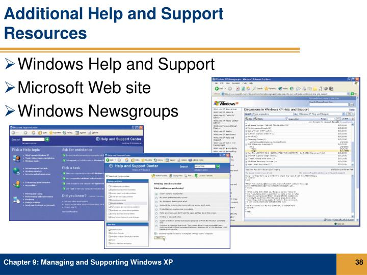 Additional Help and Support Resources