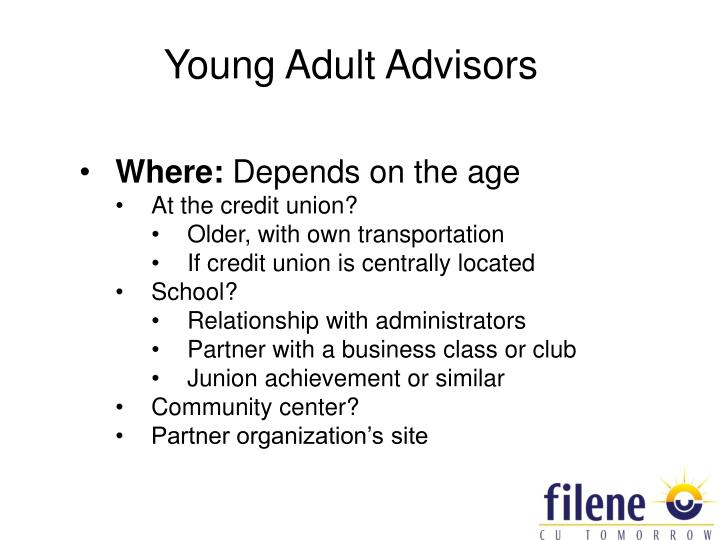 Young Adult Advisors