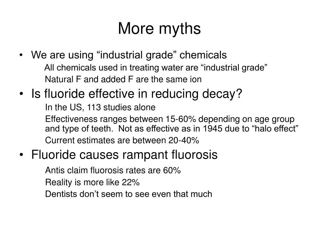 More myths