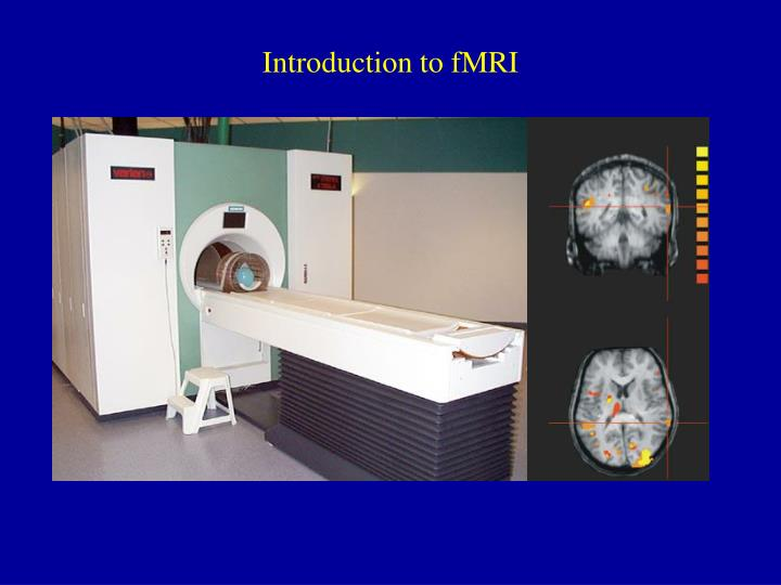 Introduction to fmri