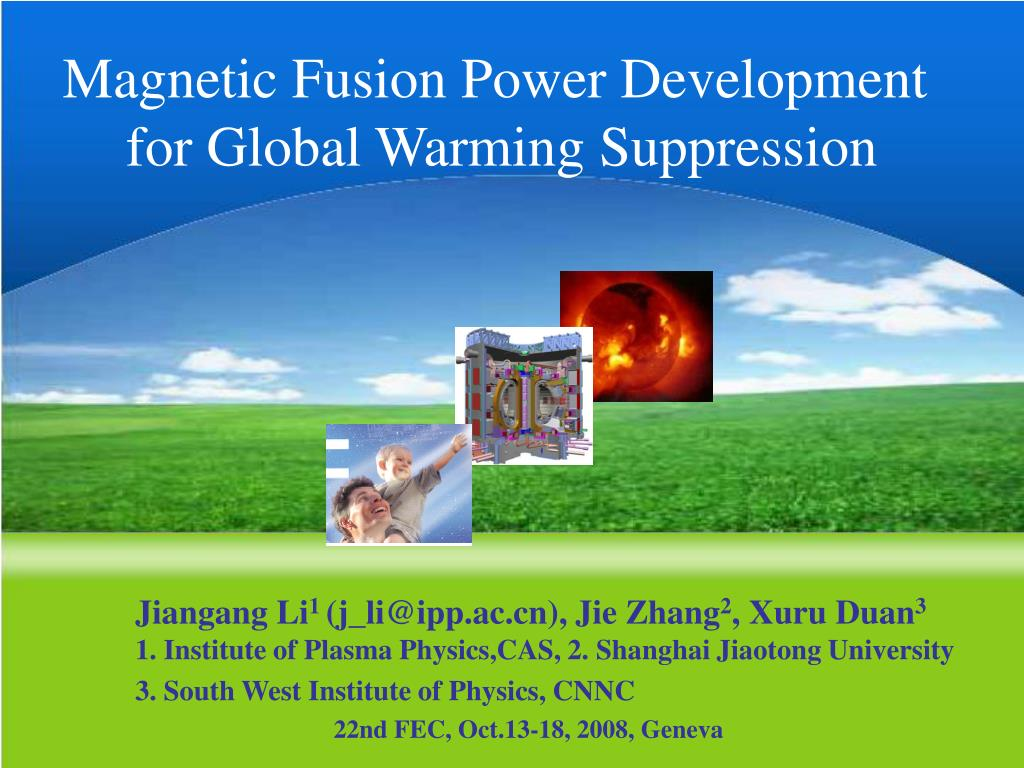 Magnetic Fusion Power Development