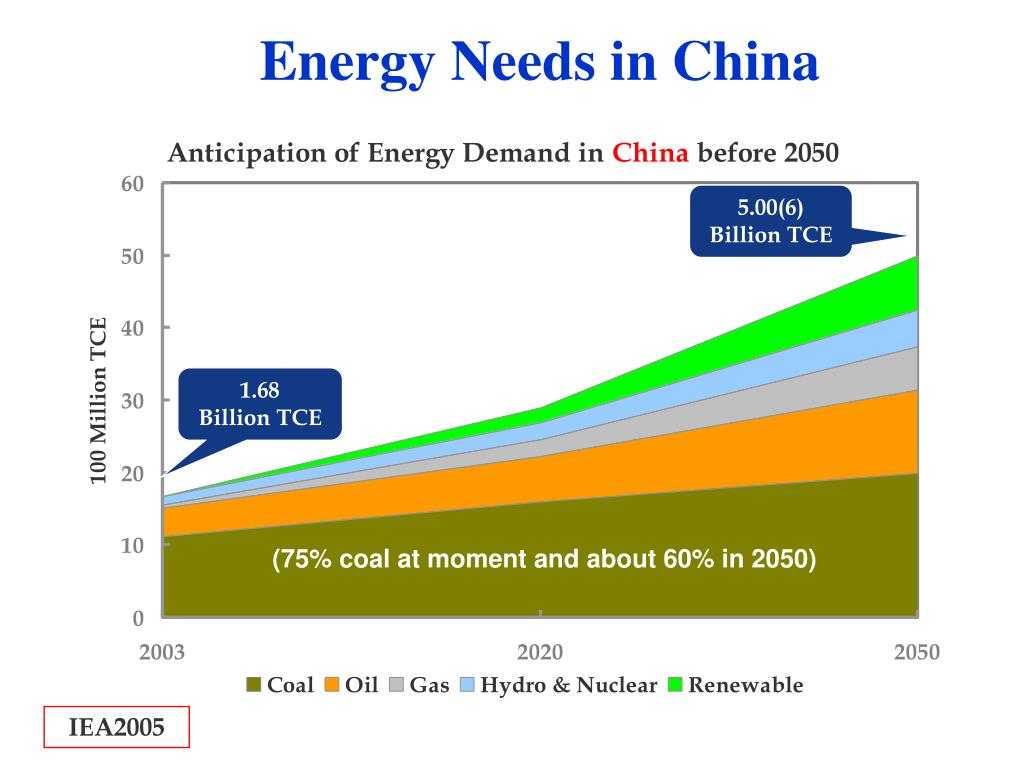Energy Needs in China