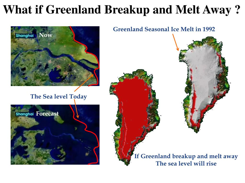 What if Greenland Breakup and Melt Away ?