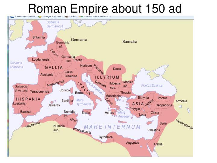 Roman empire about 150 ad l.jpg