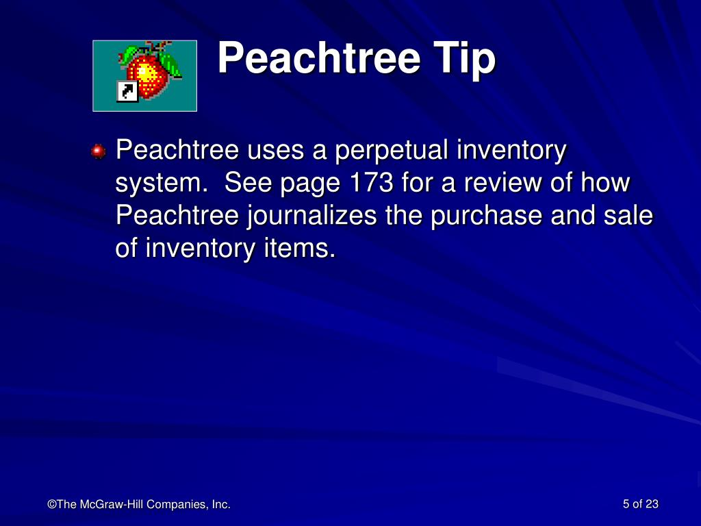 Peachtree Tip